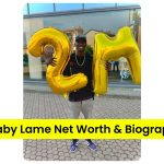 Khaby Lame holding balloons on getting 2 million followers